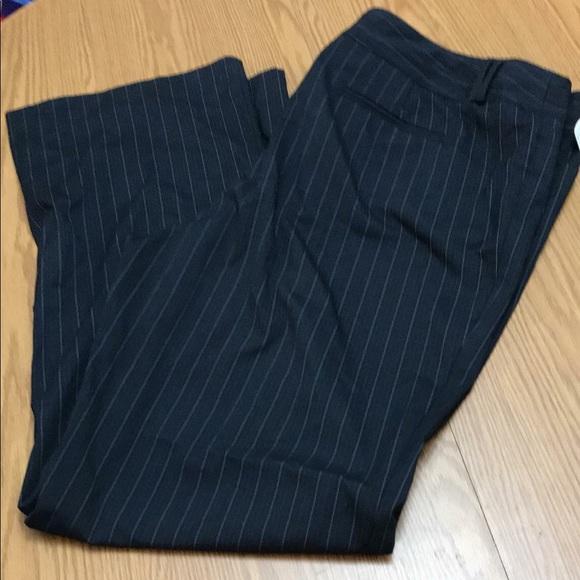 ce0deee0b4b Size 20 Lane Bryant black pinstripe pants